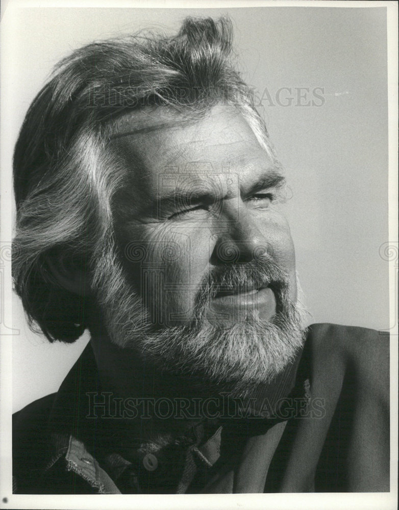 1981 Press Photo Kenny Rogers In Coward Of The County Historic Images