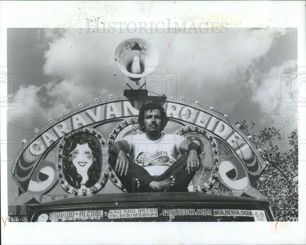 1982 Press Photo CARLOS DIEGUES BRAZILIAN FILM DIRECTOR
