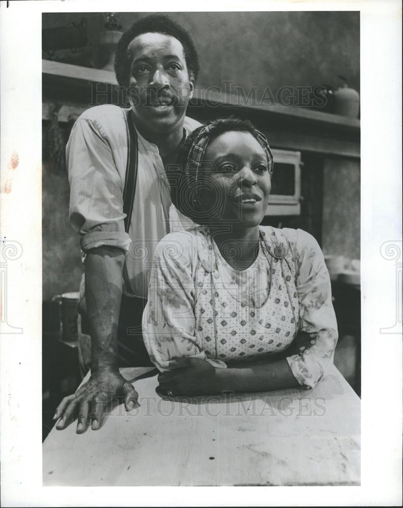 1988 Press Actors Mel Winkler L Scott Caldwell Joe Turner s