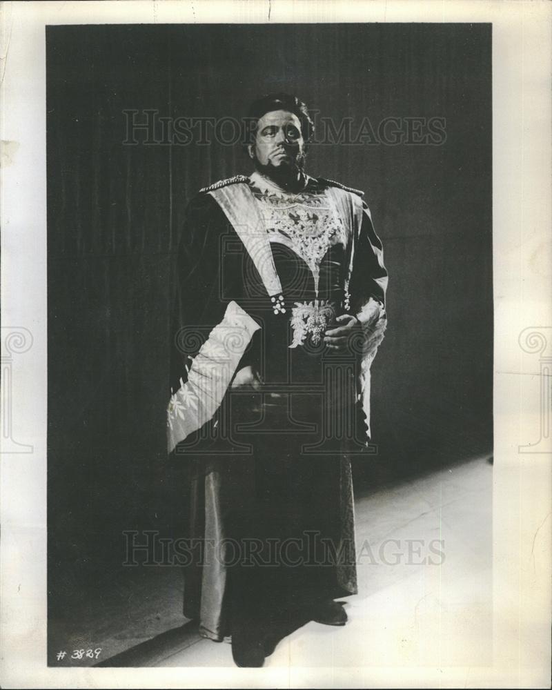 1969 Press Photo James McCracken Tenor Singer Opera concert