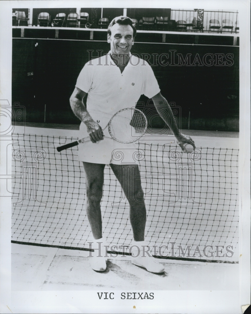 1976 Press Vic Seixas Tennis Player