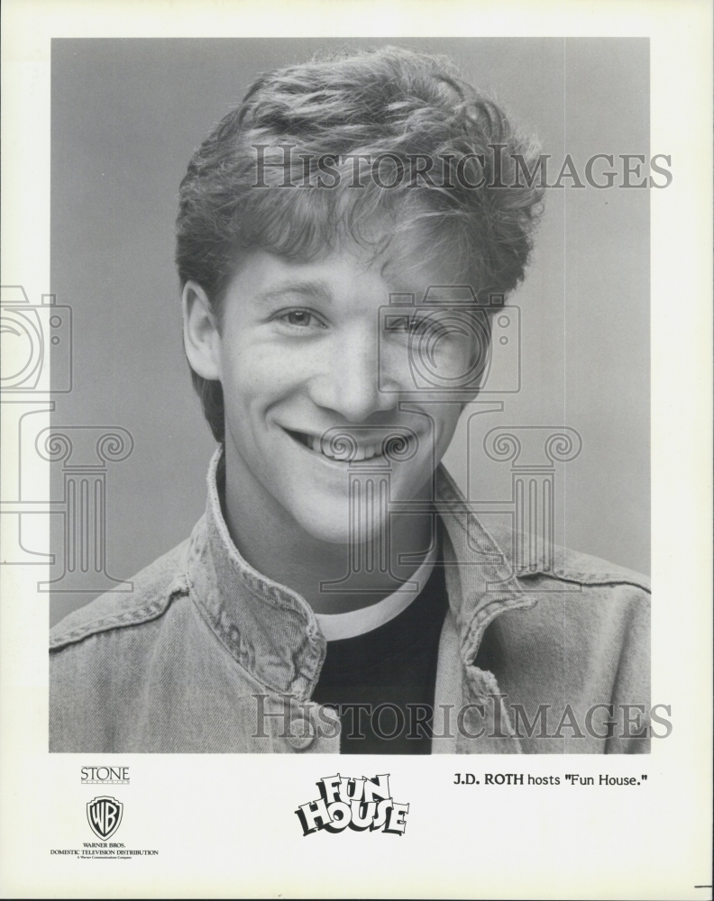 1988 Press Photo Actor J D  Roth Host Of
