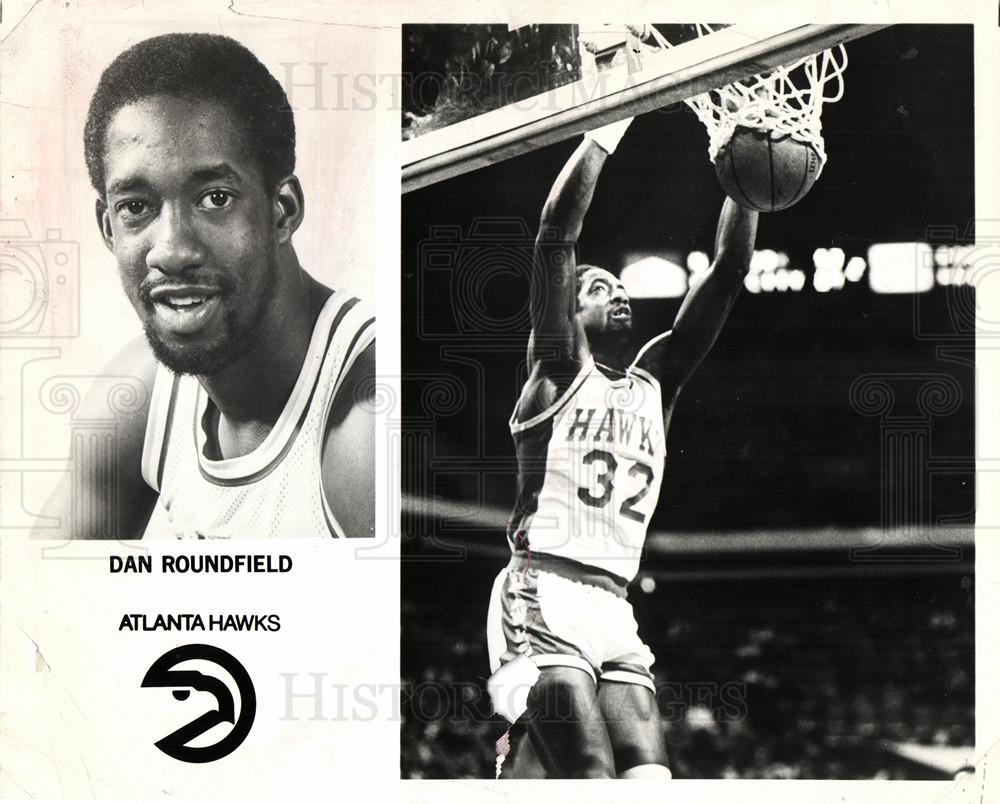 Press Dan Roundfield Atlanta Hawks
