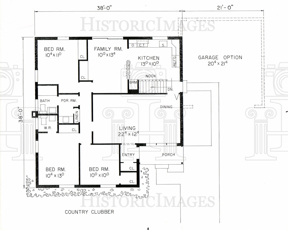 1960s ranch house plans escortsea for 1960s floor plans